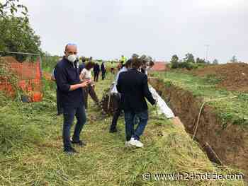 Lavori sulla condotta idrica Minturno-Cellole - FOTO - h24 notizie