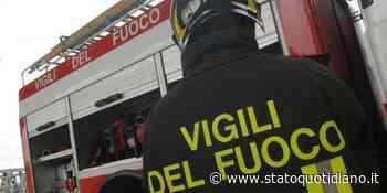 A16. Candela - Cerignola, mezzo pesante in fiamme - StatoQuotidiano.it