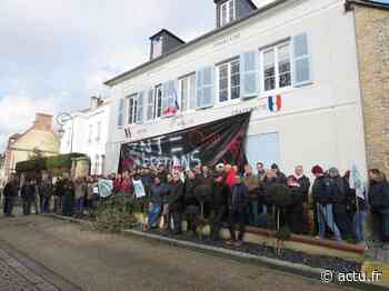 Aux Andelys (Eure), une centaine d'agriculteurs mobilisée contre les zones de non-traitement - Normandie Actu
