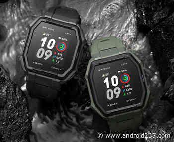 Amazfit Ares avec écran couleur de 1,28 pouce, 70 modes de sports, GPS intégré et autonomie de la batterie de 13 jours annoncée - Android 237