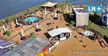 Lübecks Stadtstrand ist wieder bereit für die Gäste