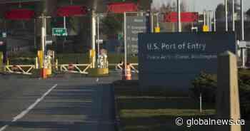 U.S.-Canada border closure extended another 30 days amid coronavirus