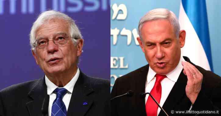 """Israele, nuovo scontro con l'Ue. Borrell: """"Non riconosceremo l'annessione delle colonie"""". Tel Aviv: """"Diplomazia del megafono"""""""