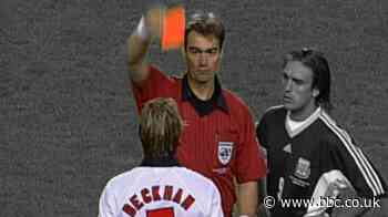 Argentina v England, 1998 World Cup: David Beckham's red card - BBC Sport