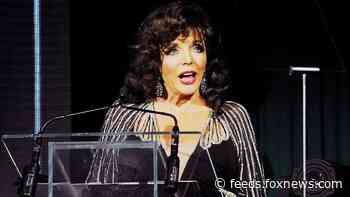 Joan Collins criticizes UK government for 'utter discrimination' and 'ageism' of citizens over age 70 amid coronavirus crisis