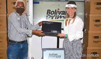 Instituciones educativas reciben computadores en Tiquisio, Bolívar - Caracol Radio