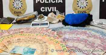 """""""Dama do Tráfico"""" é presa durante operação da Polícia Civil em Esteio - Jornal Correio do Povo"""