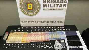 Casal é preso pela Polícia Civil por tráfico de drogas em Charqueadas - Portal de Camaquã