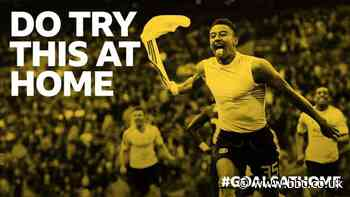 #GoalsAtHome: Can you recreate Jesse Lingard's FA Cup final winner?