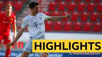 Highlights: Bayern Munich restart their season by beating Union Berlin
