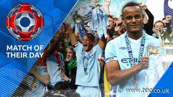 Match of Their Day: Vincent Kompany says Manchester United 'threw away' title in 2012