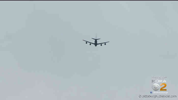 Frontline Workers Honored: Pa. Air National Guard Salutes Hospital Workers With Flyover