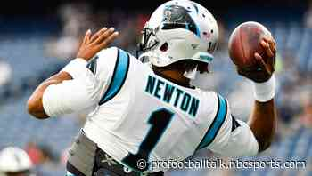 Patriots remain the betting favorites to land Cam Newton