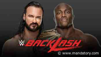 Drew McIntyre vs. Bobby Lashley Confirmed For WWE Backlash After Feud Heats Up On Social Media