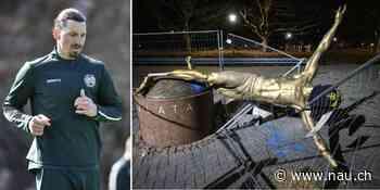 Zlatan Ibrahimovic: Statue erhält nach Vandalismus neuen Platz - Nau.ch