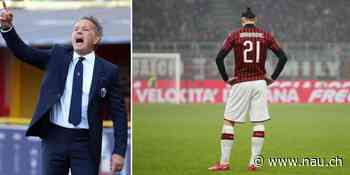 Zlatan Ibrahimovic: Die Zeichen bei Milan stehen auf Abschied - Nau.ch