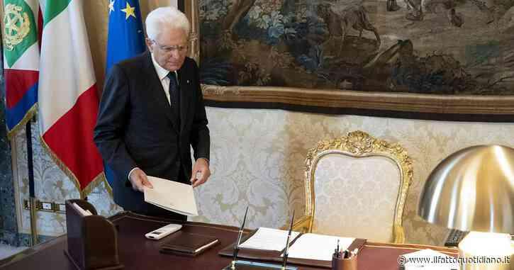 Decreto Rilancio, il presidente della Repubblica Mattarella ha firmato il testo sei giorni dopo l'approvazione in consiglio dei ministri