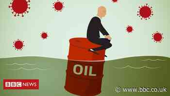 Oil on stormy market waters