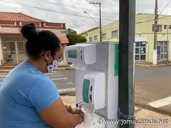 VÍDEO: Santa Gertrudes instala pias nas ruas como medida de prevenção - Grupo JC de Comunicação