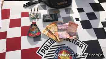 Traficante é preso pela PM em Santa Gertrudes - Cidade Azul Notícias