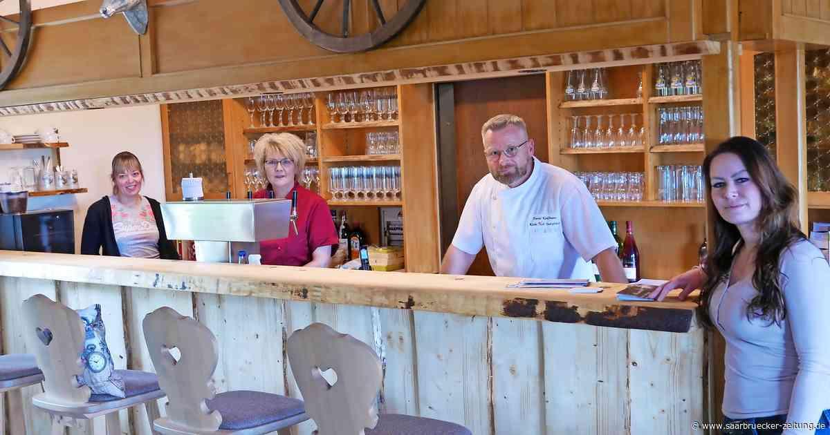 Die Gollensteinhütte in Blieskastel ist wieder geöffnet - Saarbrücker Zeitung