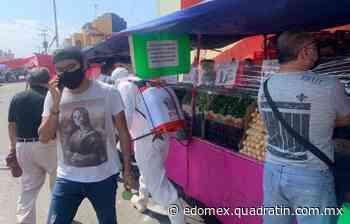 Tianguistas en Ixtapaluca suspenden actividad de forma voluntaria - Quadratín Michoacán