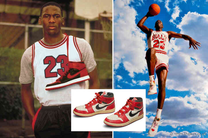 How Nike Air Jordan trainers went from being banned by the NBA in 1985 to making £2.5 billion in 2019
