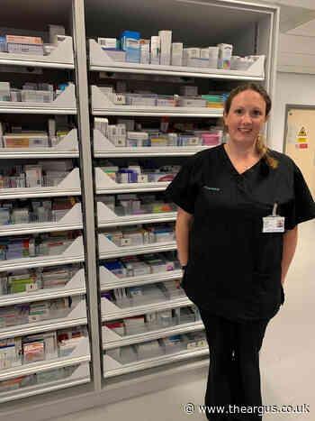 Coronavirus kept hospital worker at Worthing away from her family