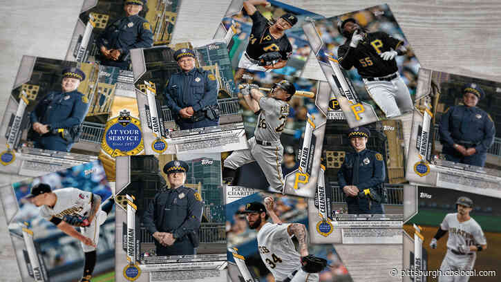 Pittsburgh Pirates Partner With Topps To Create Baseball Card Program Featuring Police Officers