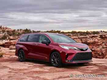 The redesigned Toyota Sienna minivan comes with an onboard vacuum and a fridge, and it'll tackle the Honda Odyssey and Chrysler Pacifica with a hybrid-only engine