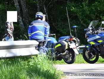 AUTUN – LE CREUSOT : Un motard flashé à 148 km/heure sur le plateau d'Antully - Creusot-infos.com