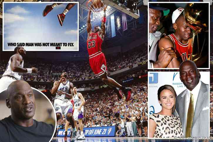 Tragedy, demons & drive to win at all costs that kept Michael Jordan soaring as told in TV doc everyone's talking about