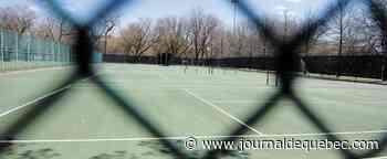 Les terrains de tennis seront ouverts à Québec à partir de mercredi