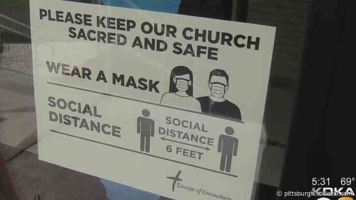 Catholic Diocese Of Greensburg To Resume Mass With Limited Capacity, Mask Requirement And A 'Minister Of Hospitality'