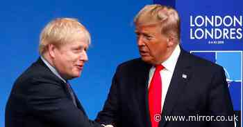 NHS remains 'at risk in future trade deal with President Trump'