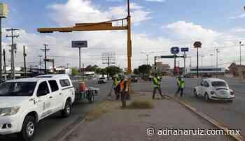 #Juarez | Reactiva Municipio limpieza de avenidas principales de la ciudad - Adriana Ruiz