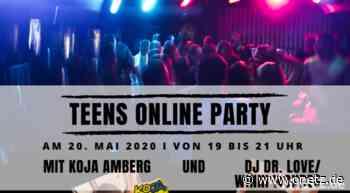 Teens-Online-Party live und direkt ins Wohnzimmer: DJ Dr. Love dreht Plattenteller - Onetz.de