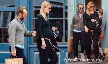 Hey Jude, it's baby number six! Actor Jude Law is thrilled as his new wife Phillipa, 32, is pregnant - Daily Mail