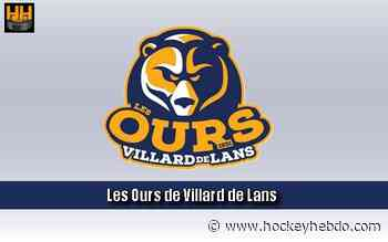Hockey sur glace : D2 : Vague de prolongation à Villard de Lans - Transferts 2020/2021 : Villard-de-Lans (Les Ours) | Hockey Hebdo - hockeyhebdo Toute l'actualité du hockey sur glace
