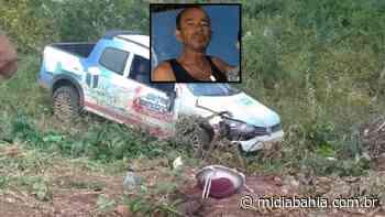 Empresário de Bom Jesus da Lapa morre após grave acidente na BA-160, sentido Paratinga - Mídia Bahia