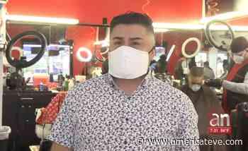 Reabre se negocio el barbero que desafió a las autoridades de Miramar - AmericaTeve