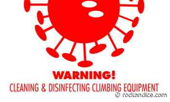 Cleaning and Disinfecting Climbing Equipment - Rock and Ice - Rock and Ice Magazine