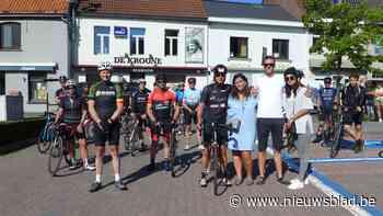 """Vader en vrienden fietsen een hart voor overleden Mathieu (19): """"Hij was enorm sympathiek en joviaal"""" - Het Nieuwsblad"""