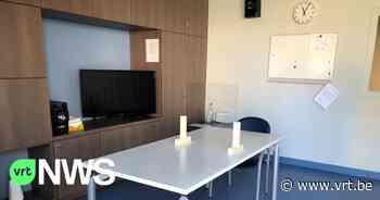 """Opnieuw bezoekers in woonzorgcentrum Laarne: """"We laten pauze van 15 minuten tussen alle gasten en ontsmetten grondig"""" - VRT NWS"""