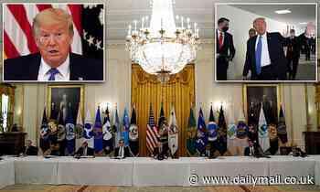 Donald Trump holds Cabinet meeting during coronavirus with NO designated survivor