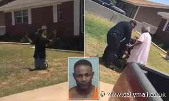 Woman, 90, shields black grandson from police over traffic stop
