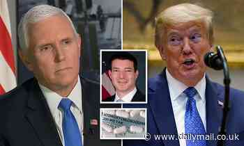 Mike Pence is NOT on hydroxychloroquine despite Trump claim