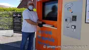 Un distributeur automatique de pizzas à Friville-Escarbotin - Courrier picard