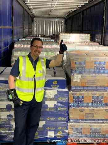 Croydon and Sutton foodbanks receive £15 million food donation from Tesco