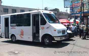 Muere abuelita atropellada por un microbús, en #Naucalpan - DigitalMex